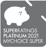 Superratings Platinum 2021 mychoice super