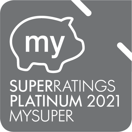 Superratings Platinum 2021 MySuper